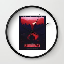 Runaway West Wall Clock