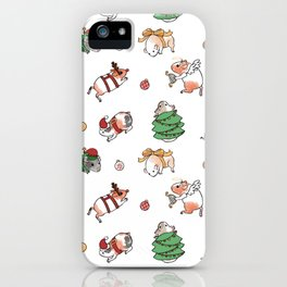 Christmas Guinea Pigs iPhone Case
