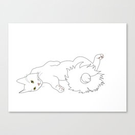 Tails from the C@ Canvas Print