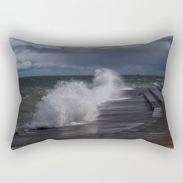 A Gale to Blow Out the Year (Chicago Waves Collection) Rectangular Pillow