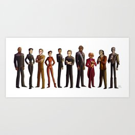 Star Trek: Deep Space Nine Art Print