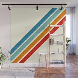 Alator - Classic 70s Retro Summer Stripes Wall Mural