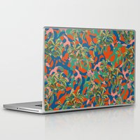 camouflage Laptop & iPad Skins featuring CAMOUFLAGE by DIVIDUS