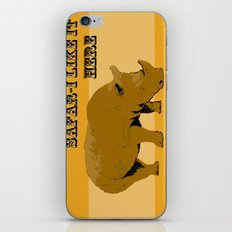 safar-i iPhone & iPod Skin