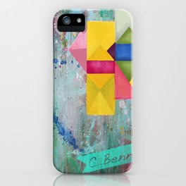 geometric dreams iPhone Case