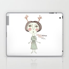 The Great Deer Pretender. Laptop & iPad Skin