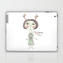 The Great Deer Pretender. Laptop & iPad Skin