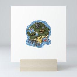 Skull Island Mini Art Print