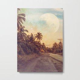 Moon Paradise Metal Print