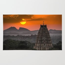 Beautiful village of Hampi Rug