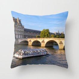 Pont Royal - Paris Throw Pillow