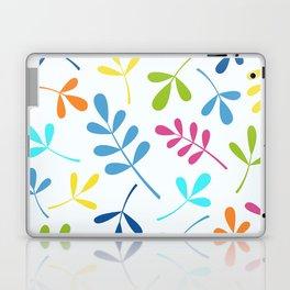 Multicolored Assorted Leaf Silhouettes Laptop & iPad Skin