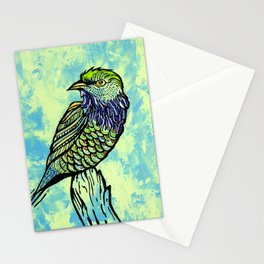 bird #4 Stationery Cards