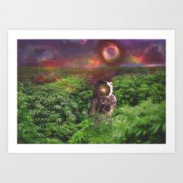 Planet Hemp Art Print