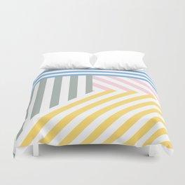 Summer stripes Duvet Cover