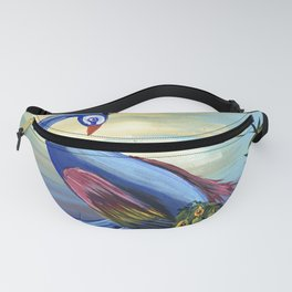 Peacock Life Fanny Pack