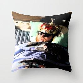 King Einar Throw Pillow
