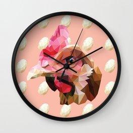 Chicken. Wall Clock