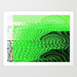 Churning Art Print