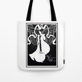 Virginia Woolf Art Nouveau Tote Bag