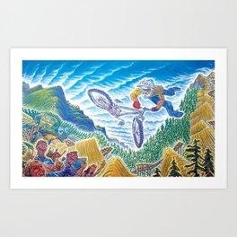 Crankworx Art Print
