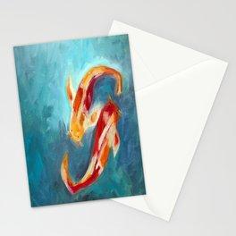 Koi Fish Art - Koi Stationery Cards