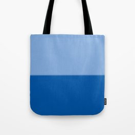 Abstract in two blues Tote Bag