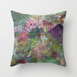 Poised Lightning Throw Pillow