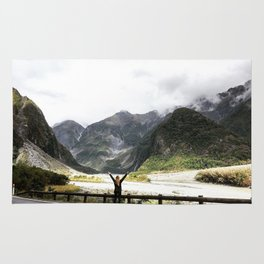 New Zealand's beauty *Fox Glacier Rug