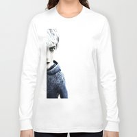 jack frost Long Sleeve T-shirts featuring Jack Frost  by LaurenMichelle