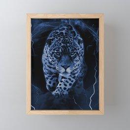 JAGUAR LORD Framed Mini Art Print