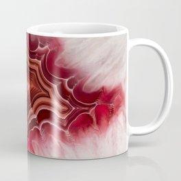 Earth teasures - Bloody red agate pattern Coffee Mug