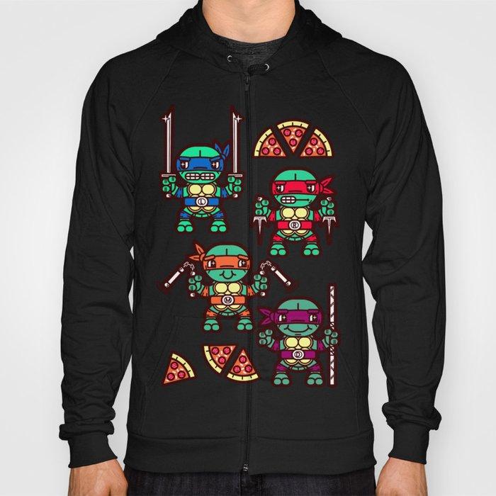 fb55464f3 Teenage Mutant Ninja Turtles Pizza Party Hoody by chobopop   Society6