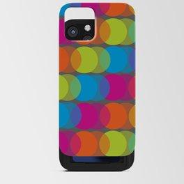 Neon Glow iPhone Card Case