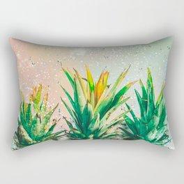 Party Pineapple Rectangular Pillow