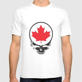 Canadian Steal Your Face (variation) T-shirt