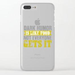 Black humor communism joke funny present Clear iPhone Case