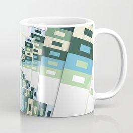 Retro Geometric Rotation Coffee Mug