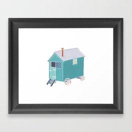 Little Shepherd Hut Framed Art Print