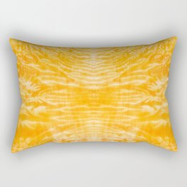 underwater fire, a coral dream of tree branches in orange Rectangular Pillow