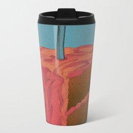 Happy Birthday (Pink)  Metal Travel Mug
