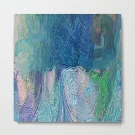 419 - Abstract Colour Design Metal Print