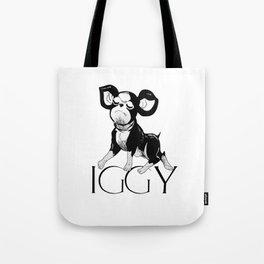 Iggy no biggie Tote Bag