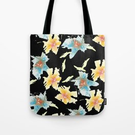 Black back Tote Bag