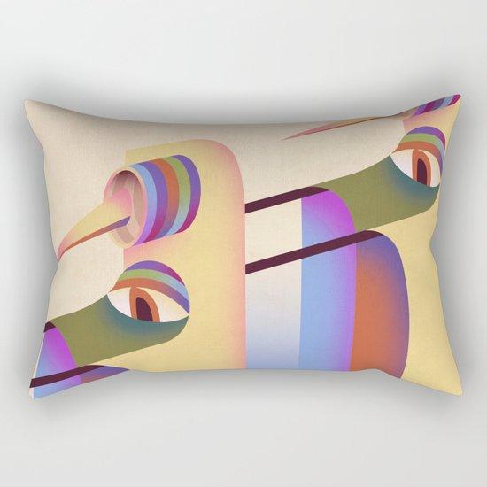 Figure #1 Rectangular Pillow