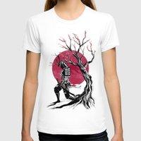 redhead T-shirts featuring Redhead samurai by Rafapasta