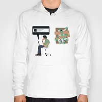 zombies Hoodies featuring Zombies by Digital Sketch