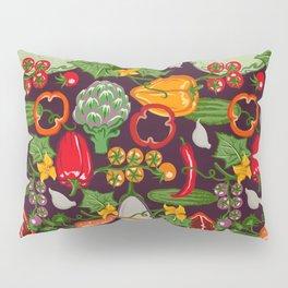 Vegetable Farm Pattern Pillow Sham
