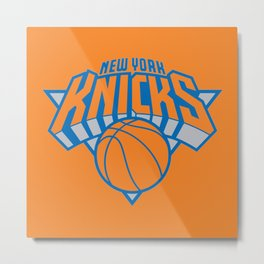 knicks Metal Print