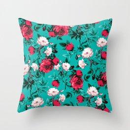 RPE FLORAL VII Throw Pillow